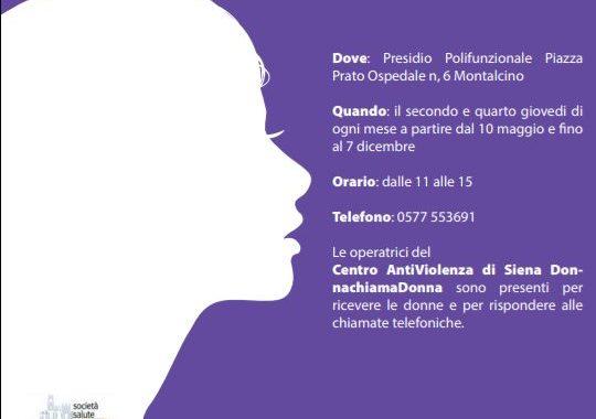 Sportello Antiviolenza di Montalcino